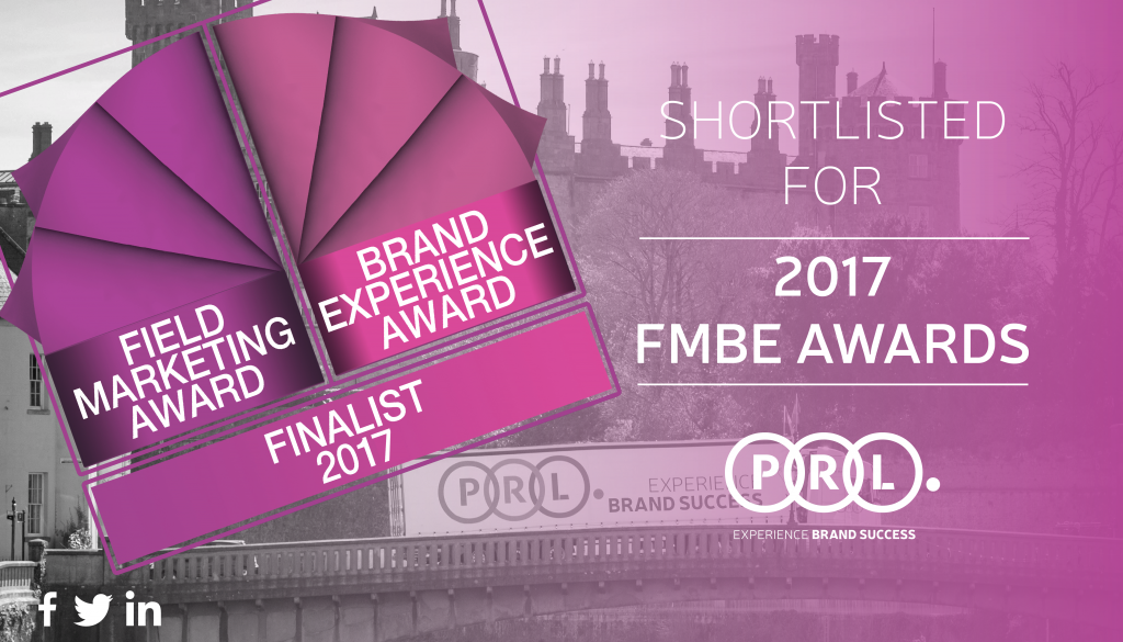 PRL Shortlisted for 2017 FMBE Awards
